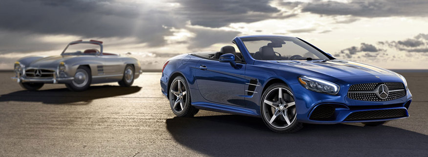 The differences between the 2017 mercedes benz sl and slc for Pros and cons of owning a mercedes benz