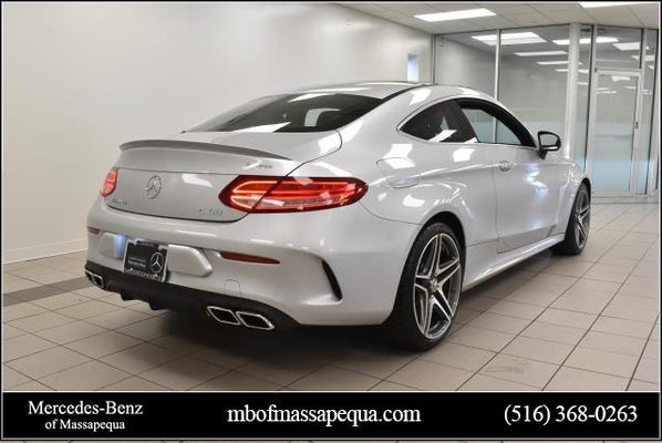 2018 Mercedes-Benz AMG® C 63 Coupe